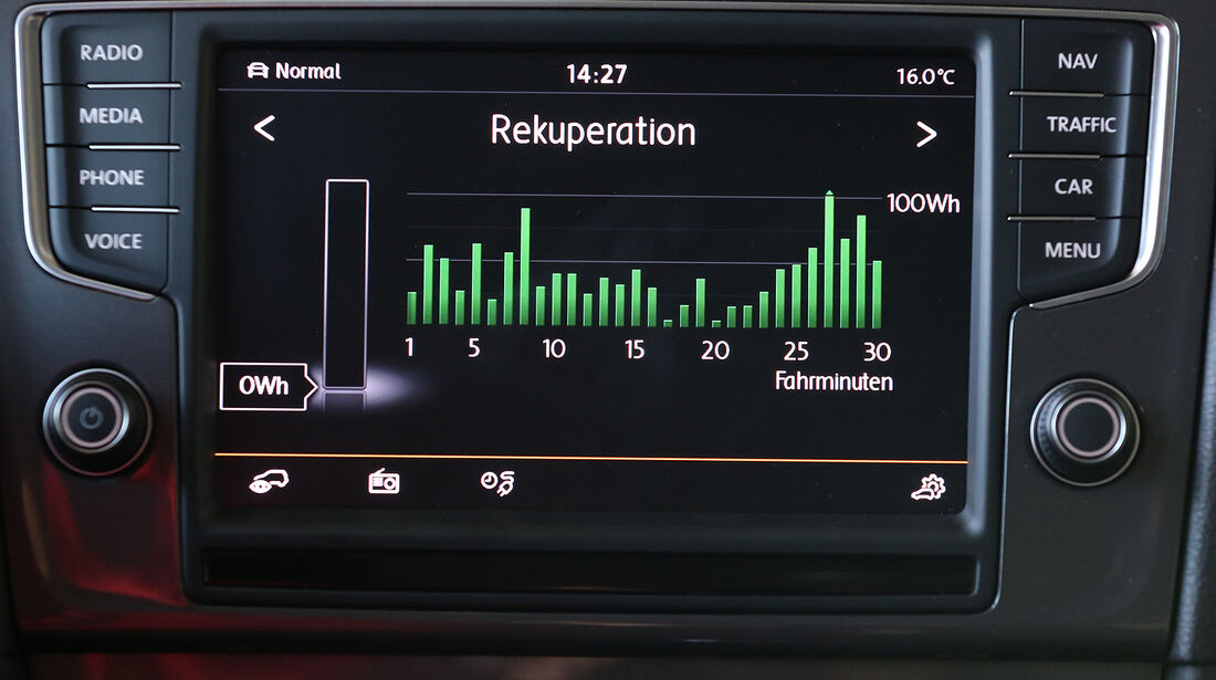 VW E-Golf, Infotainment
