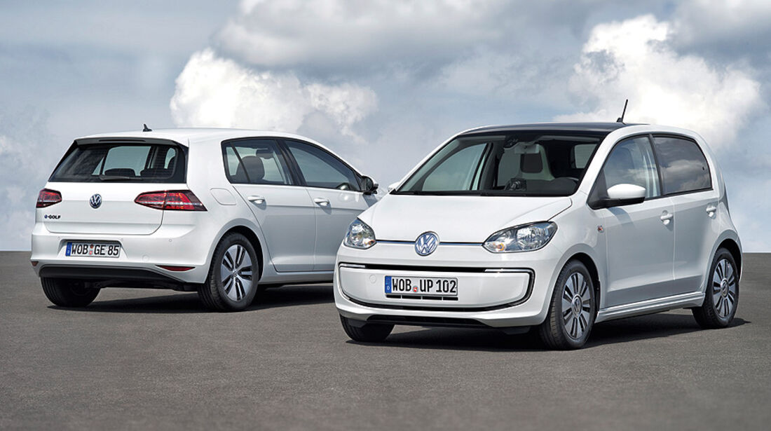 VW E-Golf, VW E-Up