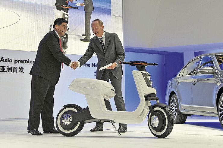 VW E-Scooter Shanghai Auto Show