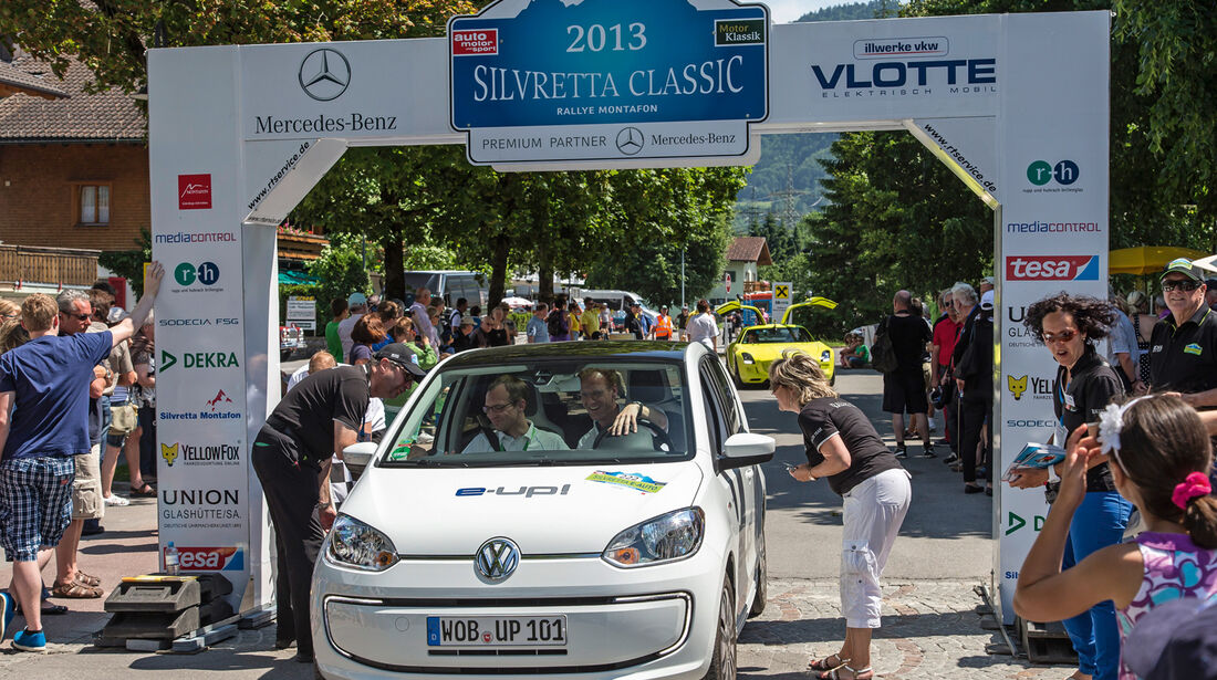 VW E-Up, Frontansicht, Start