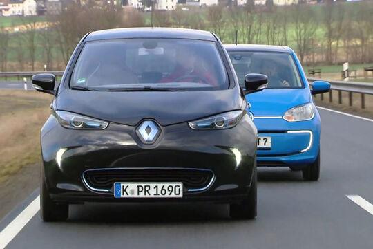 VW E-Up vs. Renault Zoe, Die Tester
