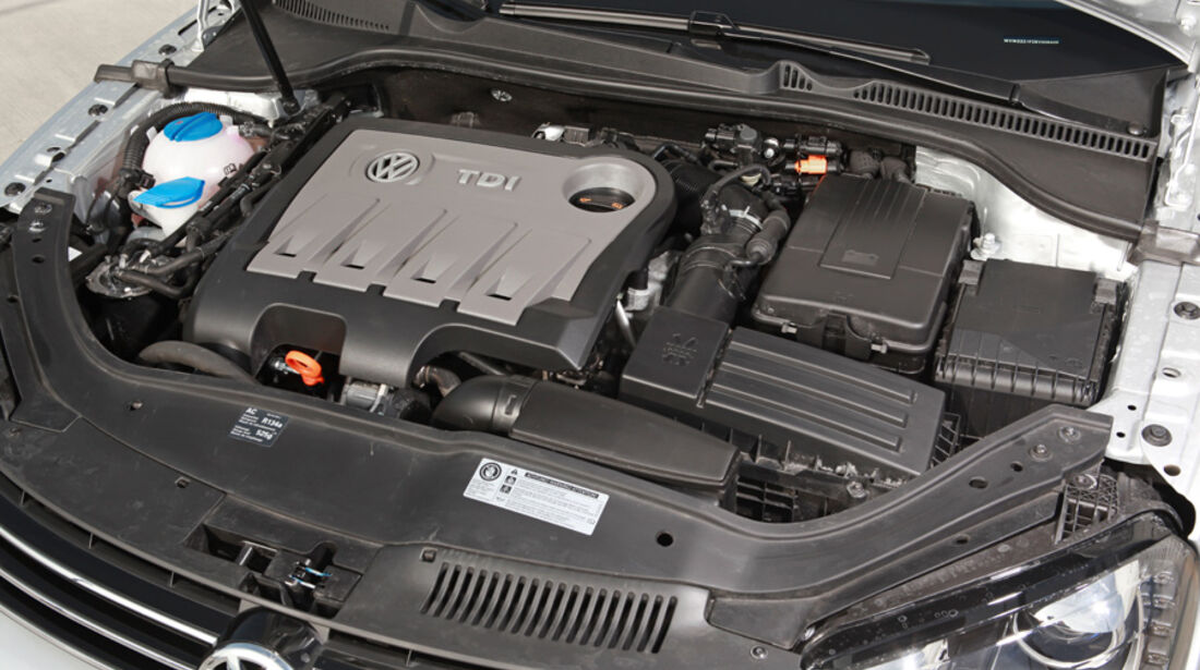 VW EOS 1.4 TSI, Motor, Motorraum