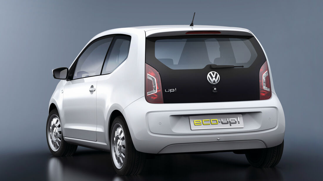 VW Eco Up, Heck