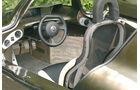 VW Einliter-Auto, 1 Liter-Auto, Innenraum, Cockpit