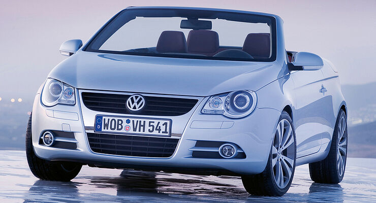 gebrauchtwagen vw eos im m ngelreport beliebtestes cabrio. Black Bedroom Furniture Sets. Home Design Ideas