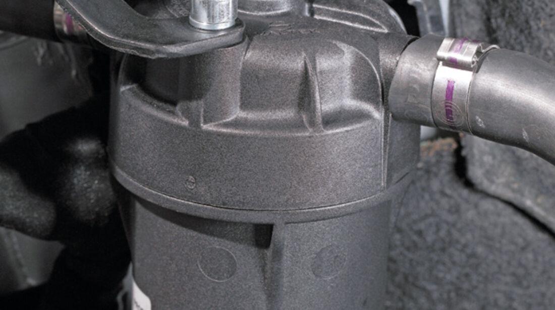 VW Golf 1.4, Filter