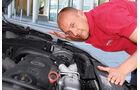 VW Golf 1.4 TSI, Dani Heyne, Motor, Motorhaube