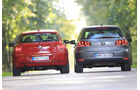 VW Golf 1.4 TSI Highline, BMW 118i Sport Line, Heck