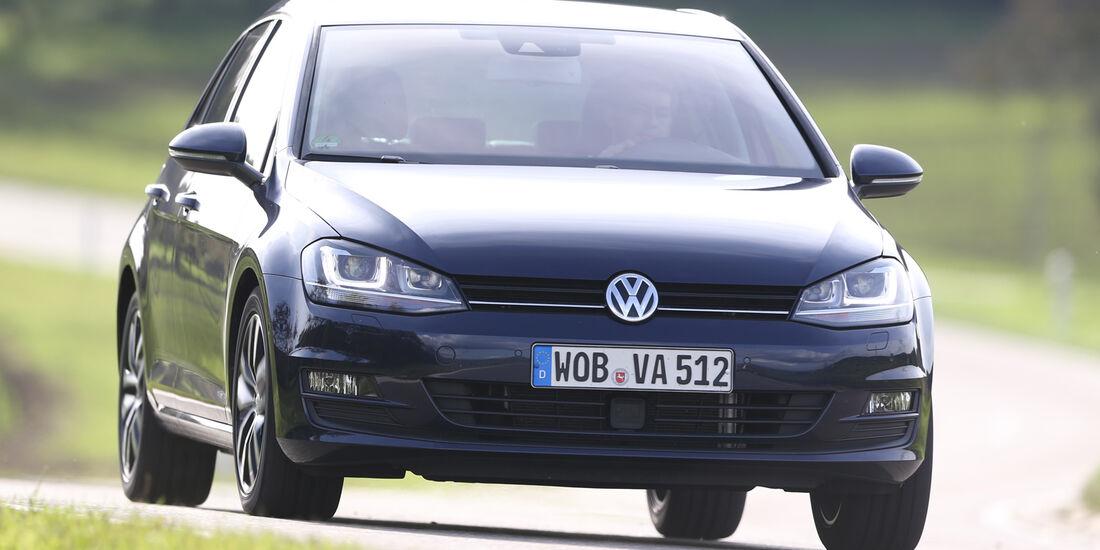 VW Golf 1.6 Blue TDI, Frontansicht