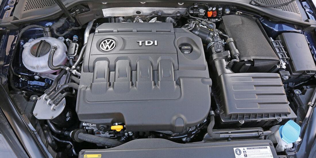 VW Golf 1.6 Blue TDI, Motor