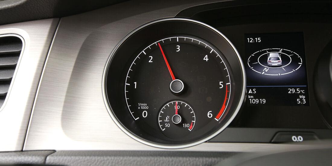 VW Golf 1.6 TDI, Anzeigeinstrument