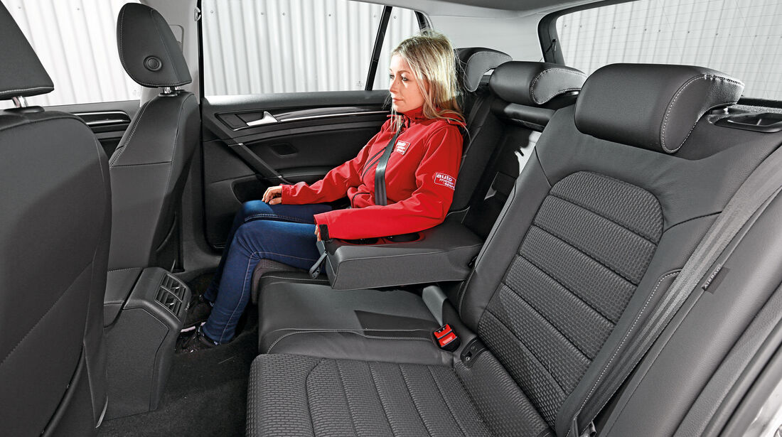 VW Golf 2.0 TDI, Fondsitz