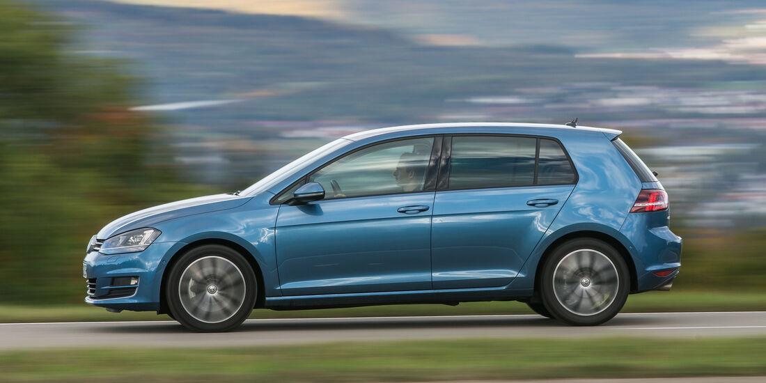 VW Golf 2.0 TDI, Seitenansicht