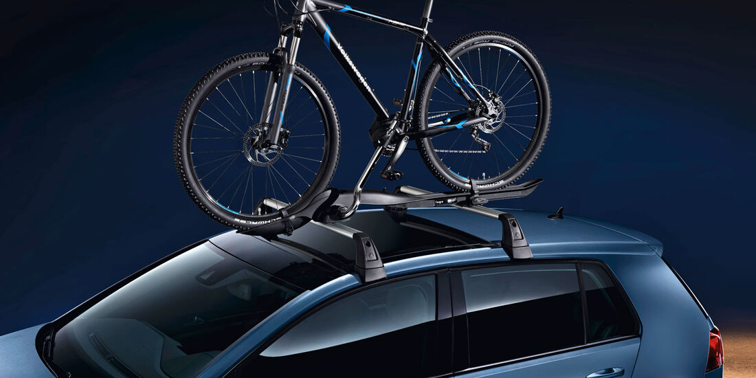 VW Golf 7, Dachträger, Fahrradträger