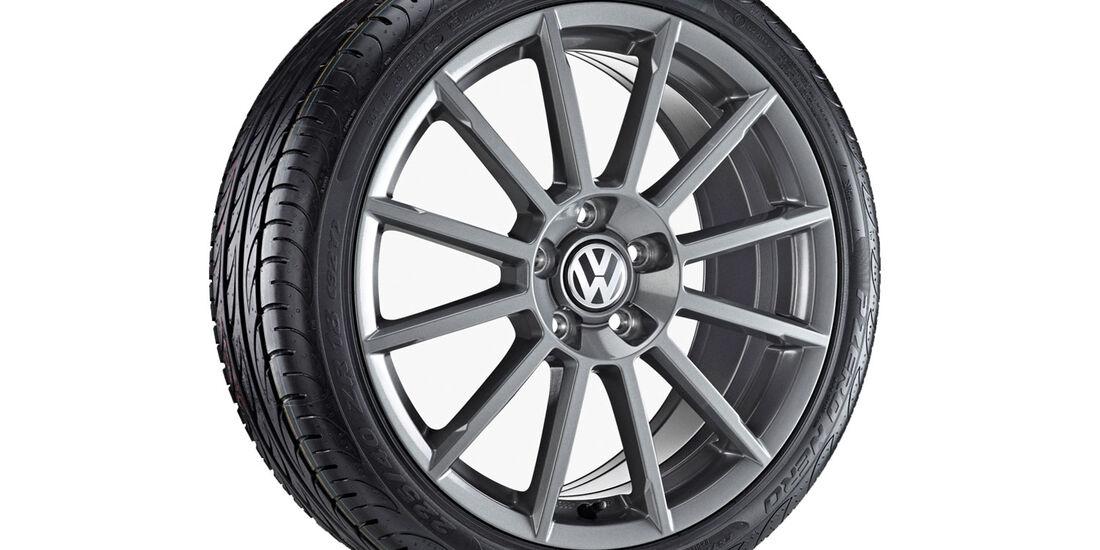 VW Golf 7, Felgen