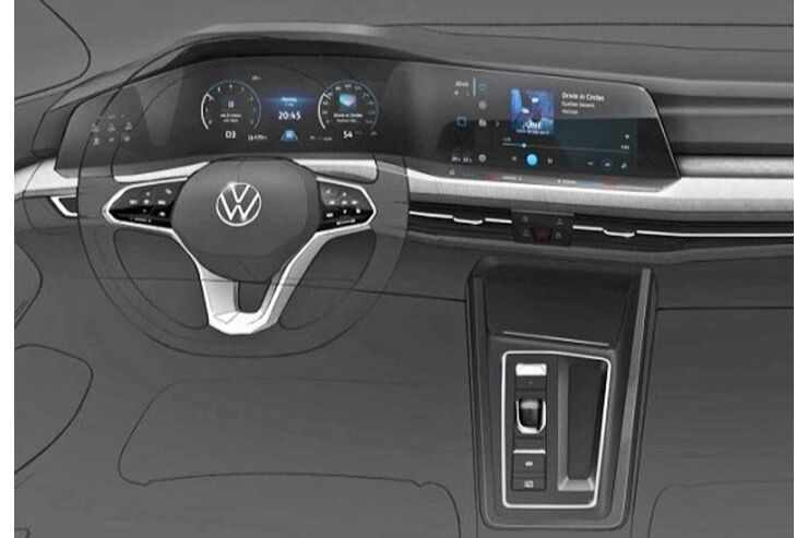 neuer vw golf 8 2019 cockpit motoren preis. Black Bedroom Furniture Sets. Home Design Ideas
