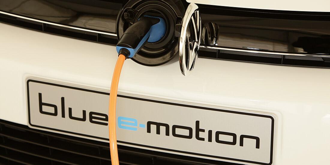 VW Golf Blue-E-Motion, Ladeanschluss