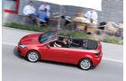VW Golf Cabrio 1.4 TSI, Seitenansicht, Verdeck offen
