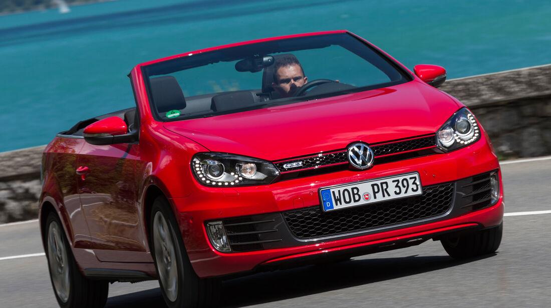 VW Golf Cabrio, Frontansicht