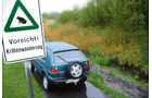VW Golf Country, Heckansicht, Reserverad