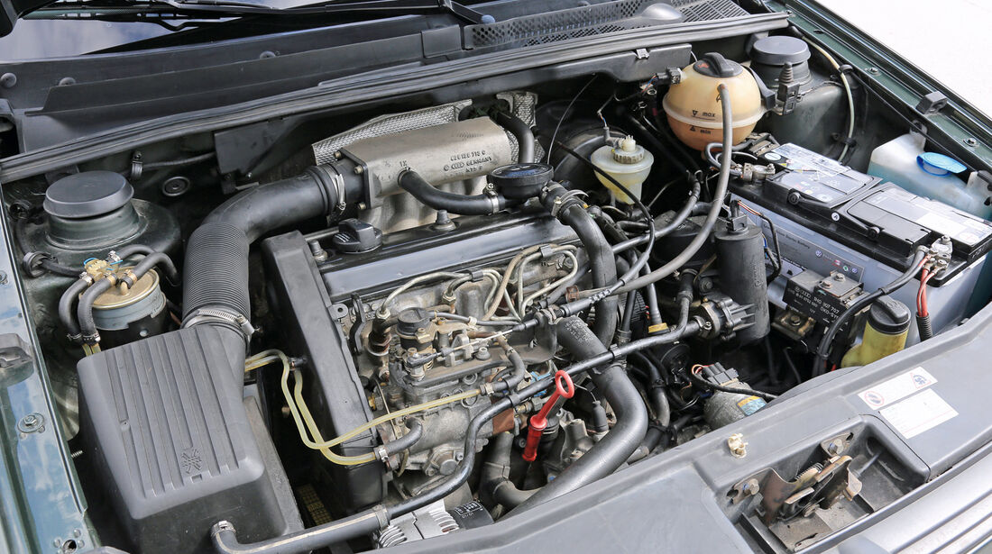 VW Golf Ecomatic, Motor