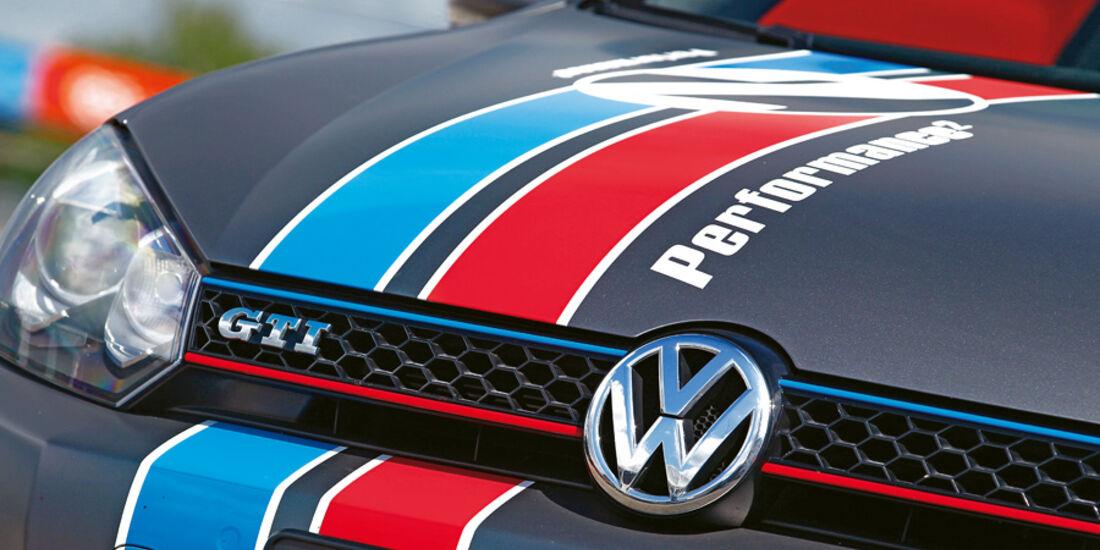 VW Golf Eibach, Emblem