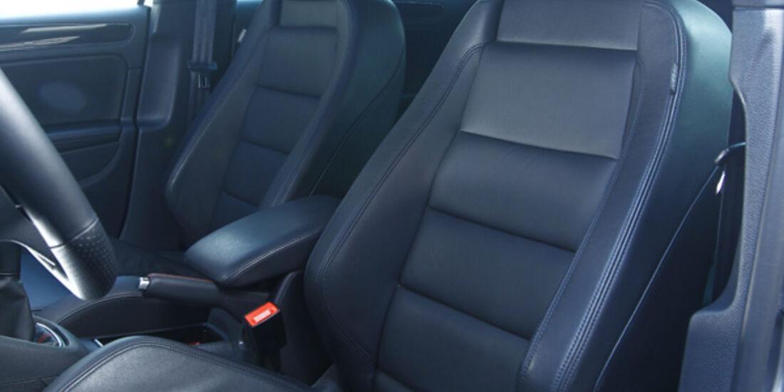 VW Golf Eibach, Sitze