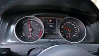 VW Golf GTD, Rundinstrumente