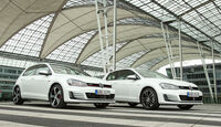 VW Golf GTD, VW Golf GTI, Frontansicht