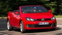 VW Golf GTI Cabrio, Frontansicht
