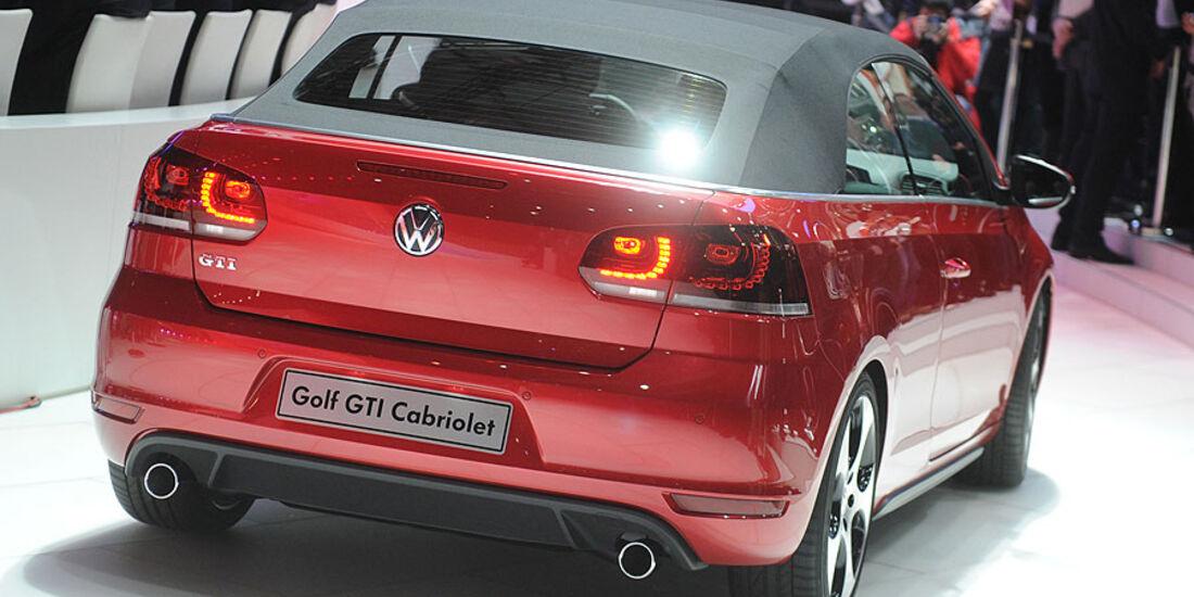 VW Golf GTI Cabrio Genf 2012