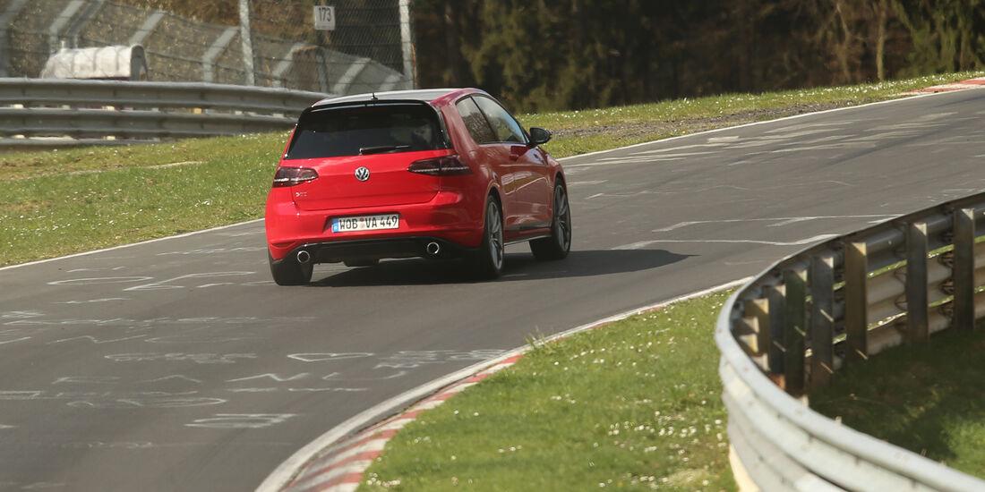 VW Golf GTI Clubsport, Heckansicht