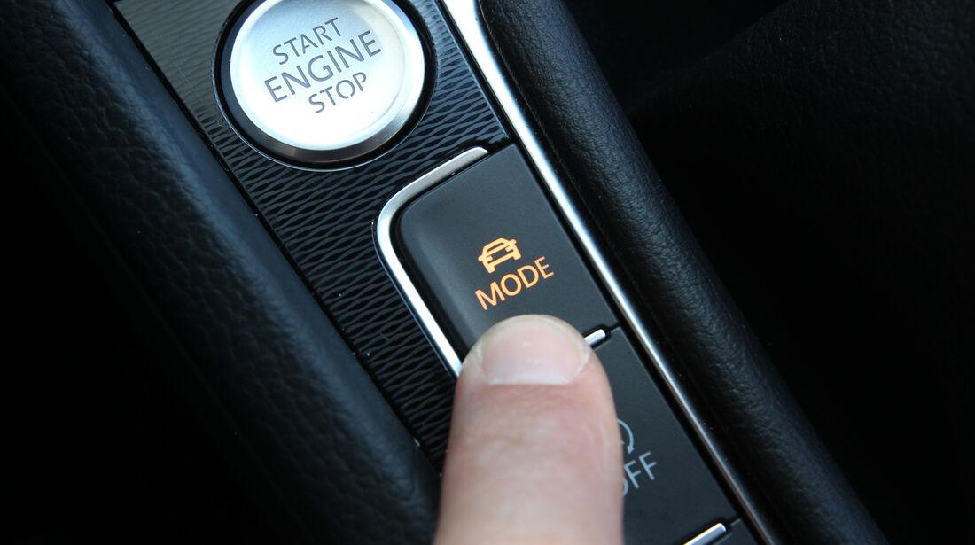 VW Golf GTI Performance, Bedienelement