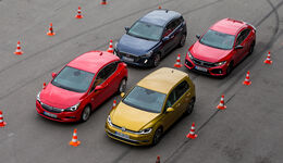 VW Golf, Honda Civic, Hyundai i30, Opel Astra