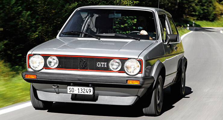 vw golf i gti restaurierung scheunenfund wird goldst ck. Black Bedroom Furniture Sets. Home Design Ideas