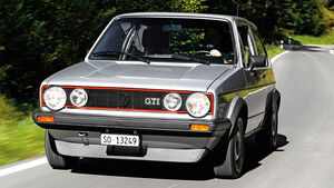 VW Golf I GTI, Frontansicht