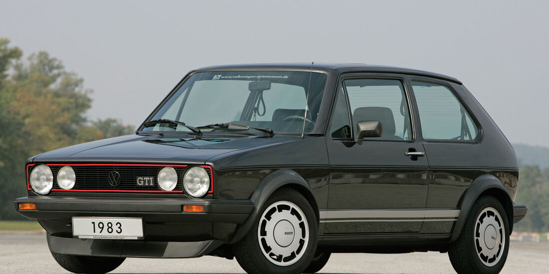 VW Golf I GTI Pirelli - Sonderedition 1983 - Kompaktsportwagen