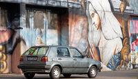 VW Golf II, Heckansicht
