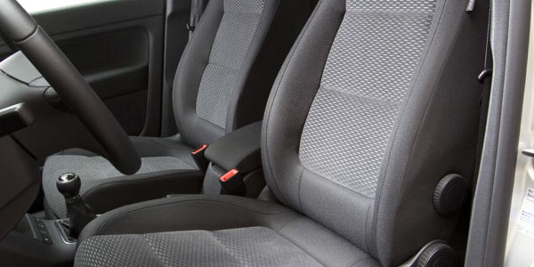 VW Golf Plus 1.2 TSI Fahrersitz