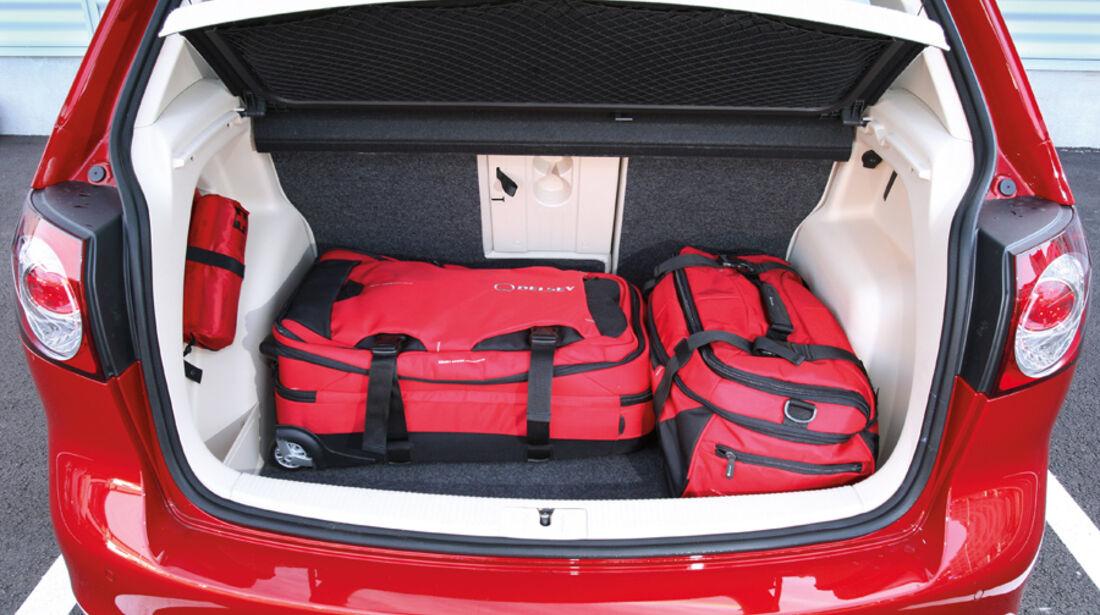 VW Golf Plus 1.4TSI, Kofferraum