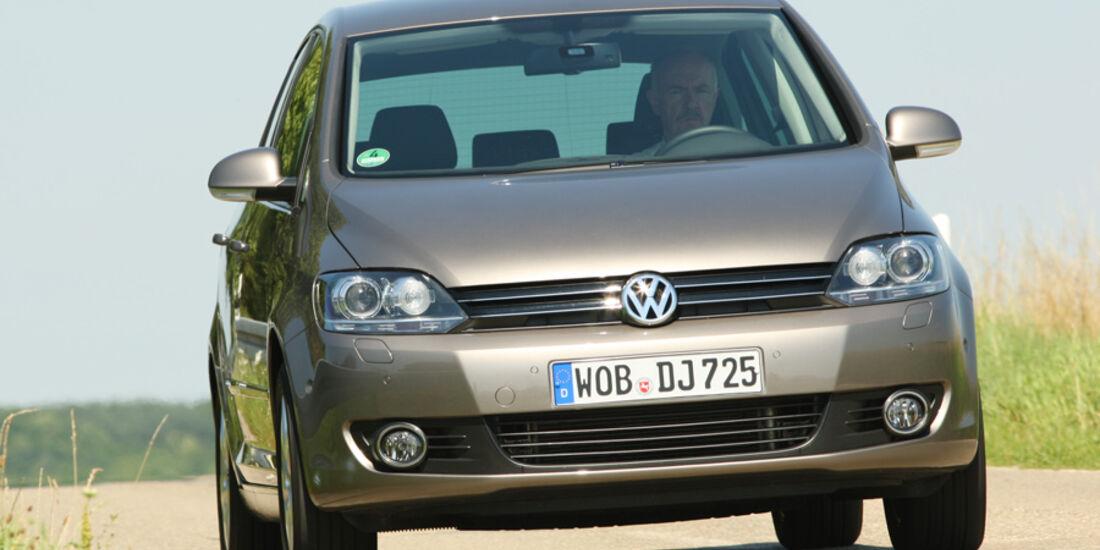 VW Golf Plus 1.6 TDI BMT, Front, Frontansicht