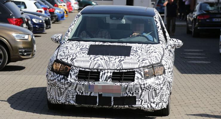 VW Golf Plus Erlkönig