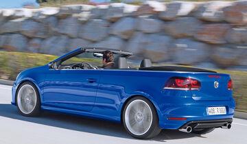 VW Golf R Cabriolet, Heckansicht