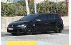 VW Golf R - Carspotting - GP Abu Dhabi 2018