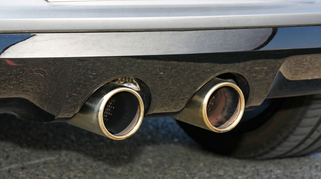 VW Golf R, Detail, Auspuff