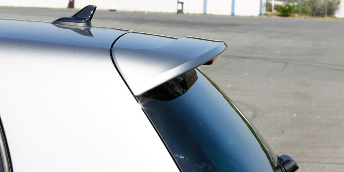 VW Golf R, Detail, Spoiler, Heckansicht
