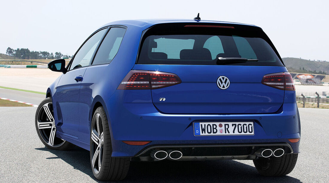 VW Golf R Sperrfrist 20.8.2013  18.00 Uhr
