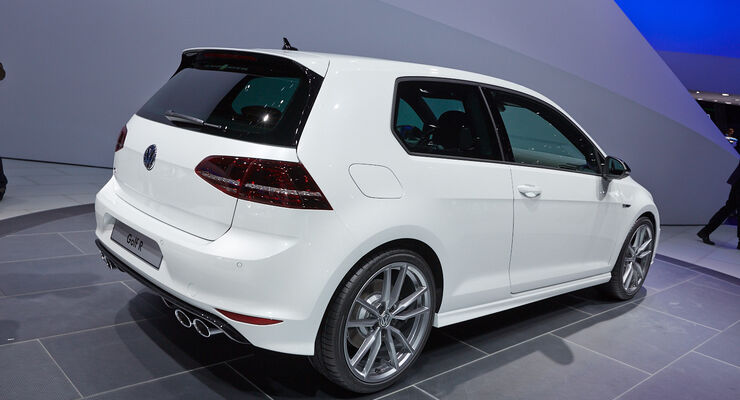 vw golf r auf der iaa das ist der 300 ps allradler auto. Black Bedroom Furniture Sets. Home Design Ideas