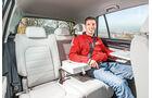 VW Golf Sportsvan 2.0 TDI, Fondsitz, Beinfreiheit
