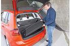 VW Golf Sportsvan, Hutablage